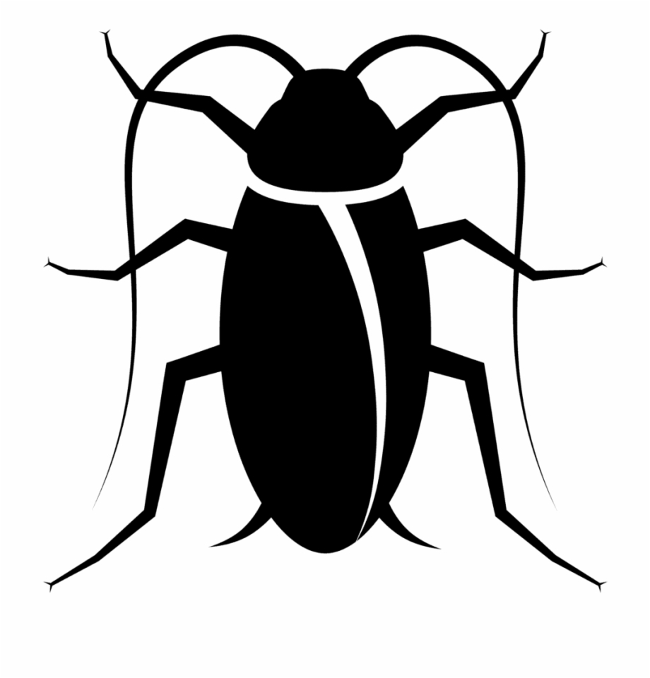 Clipart Images Cockroach Black And White Free PNG Images & Clipart.