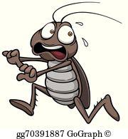 Cockroach Clip Art.