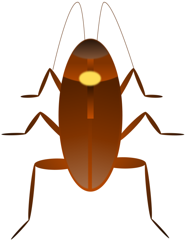 Free Clipart: Cockroach. Cucaracha.