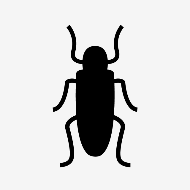 Vector Cockroach Icon, Bug, Cockroach, Roach Icon PNG and Vector.