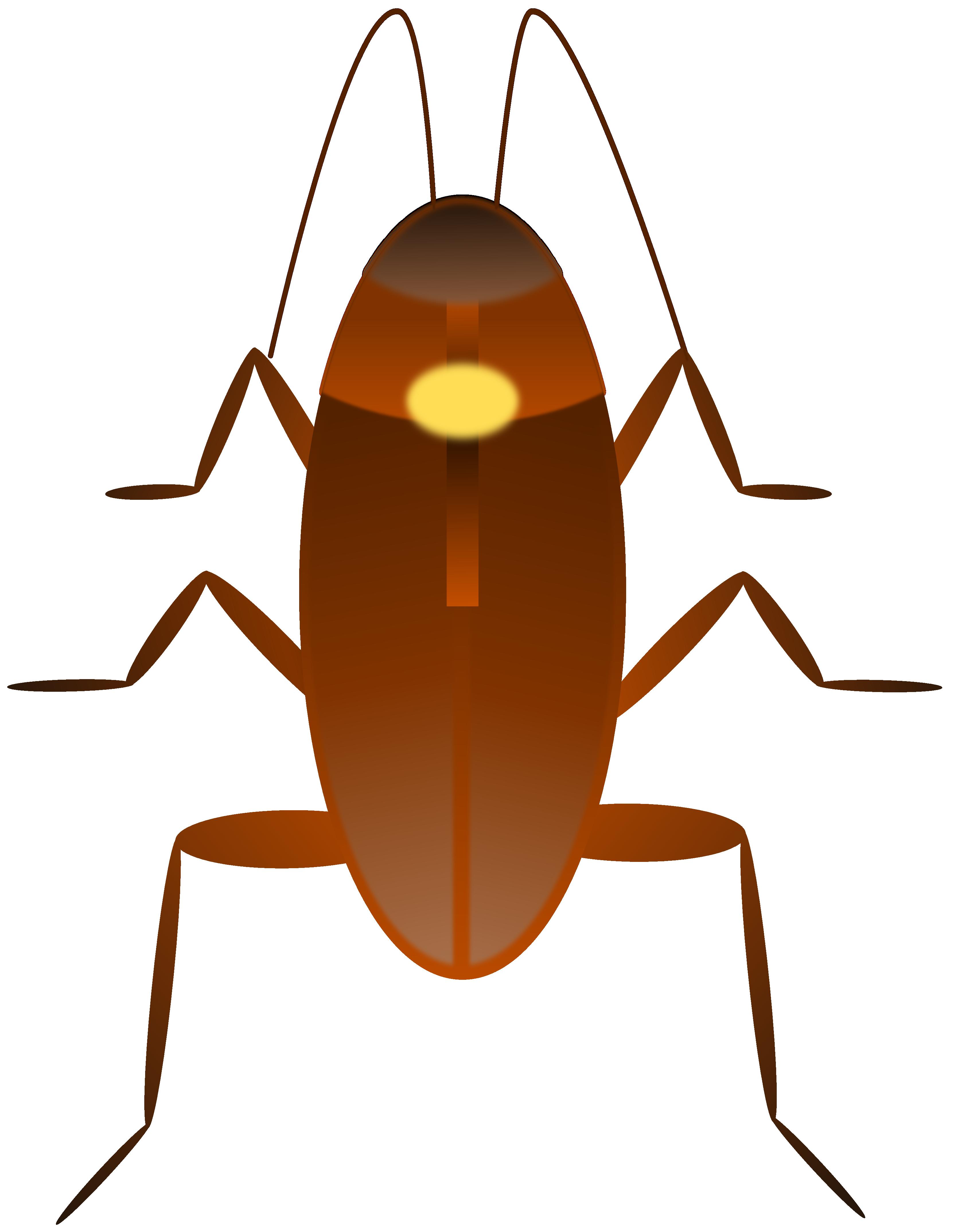 Cockroaches Clip Art.