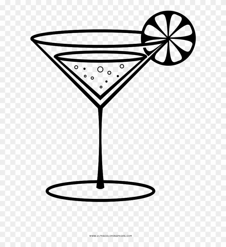Cocktail Garnish Martini.