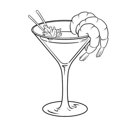 516 Shrimp Cocktail Stock Illustrations, Cliparts And Royalty Free.