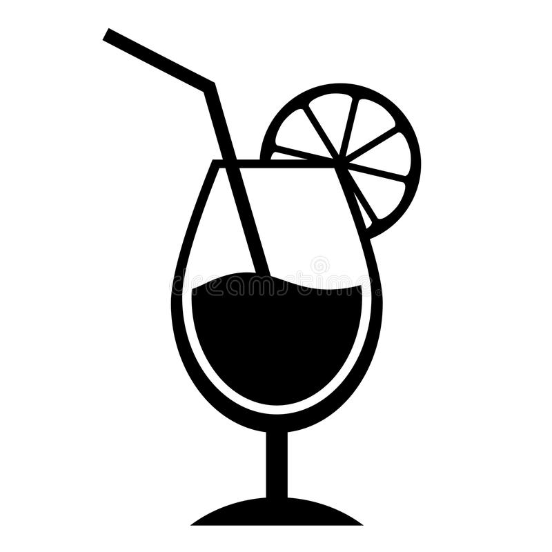 Black And White Cocktails Clipart & Free Clip Art Images #10454.