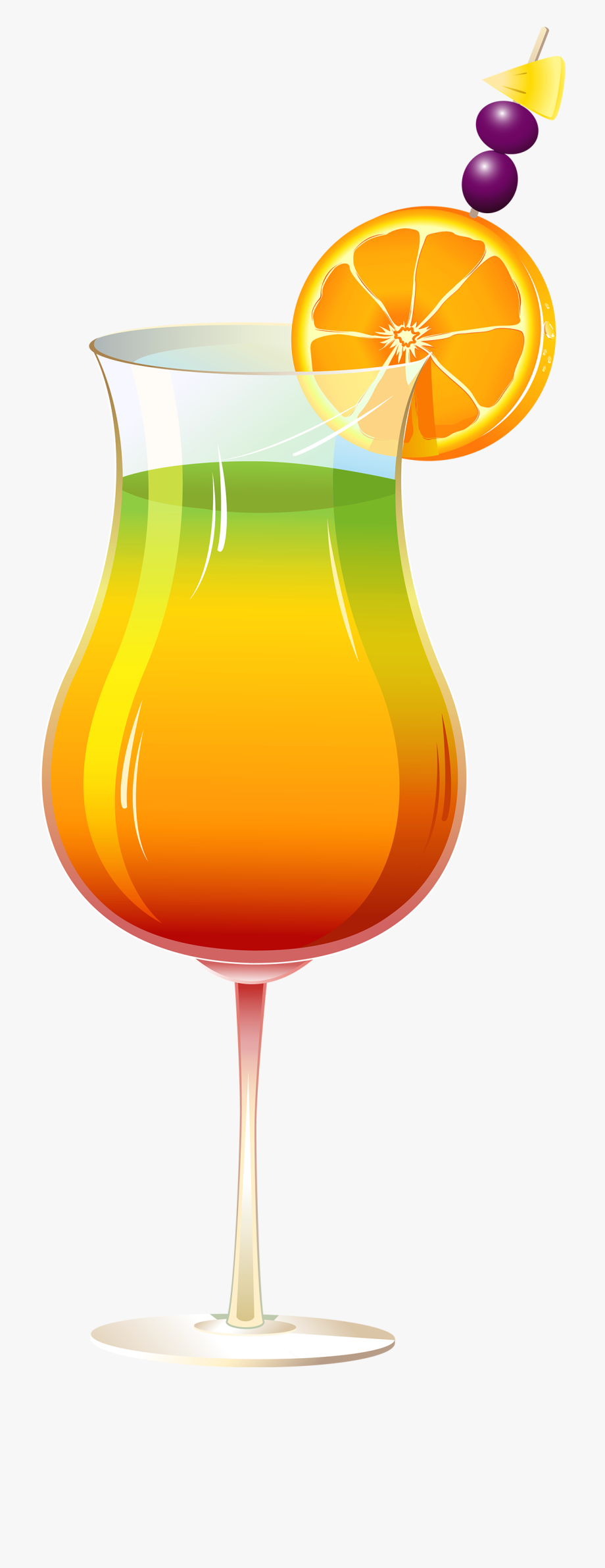 Exotic Cocktail Png Clipart.