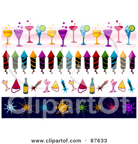 cocktail collage clipart #8