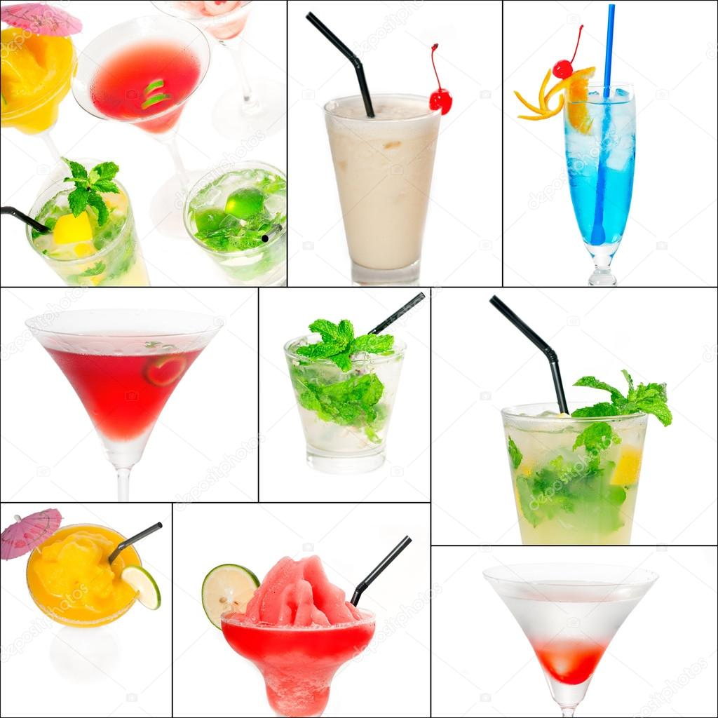 Cocktails collage — Stock Photo © keko64 #59685587.