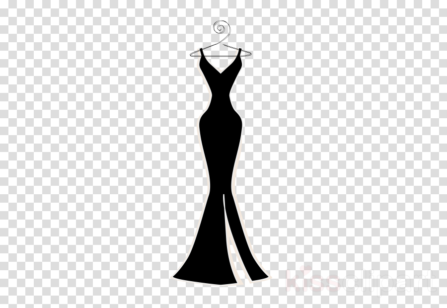 dress clothing gown cocktail dress formal wear clipart.