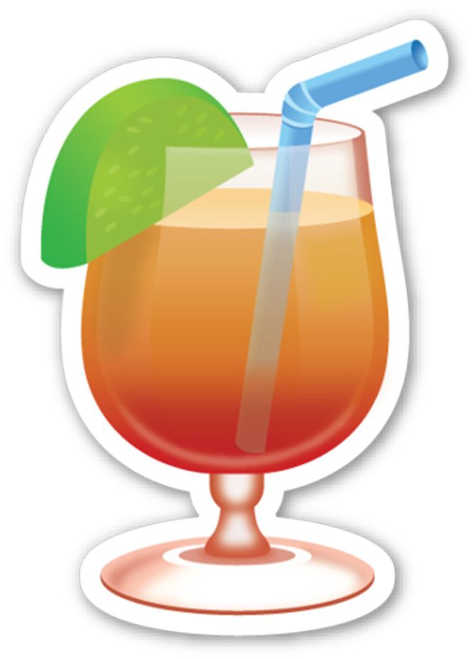 Turn Your Favorite Drink Emojis Into Real Cocktails.
