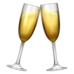 Clinking Glasses Emoji (U+1F942).