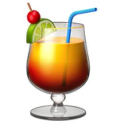 Tropical Drink Emoji (U+1F379).