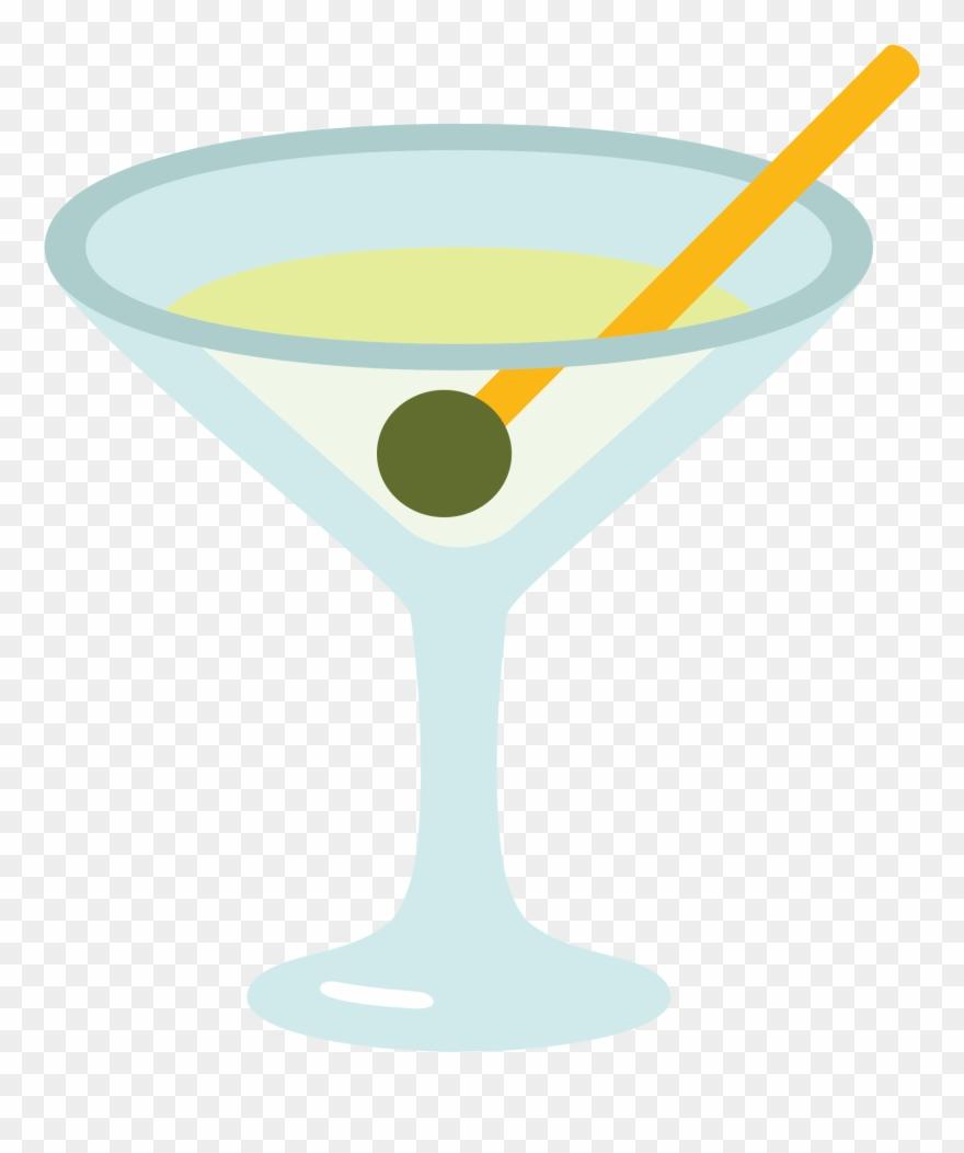 Cocktail Clipart Martini.