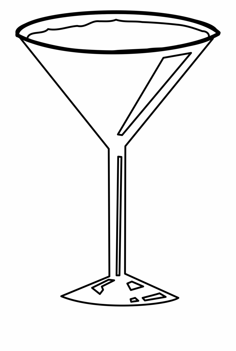 This Free Icons Png Design Of Cocktail Glass.