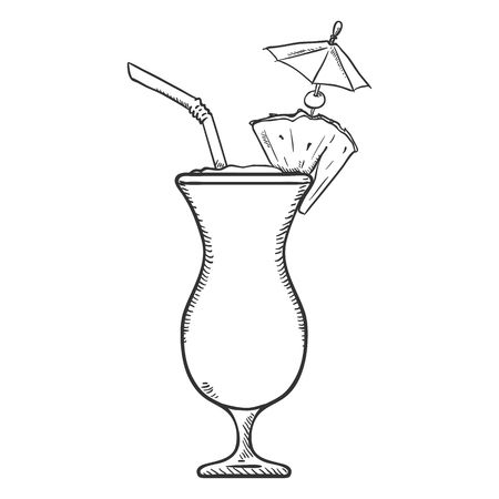 170 Hurricane Cocktail Glass Stock Vector Illustration And Royalty.
