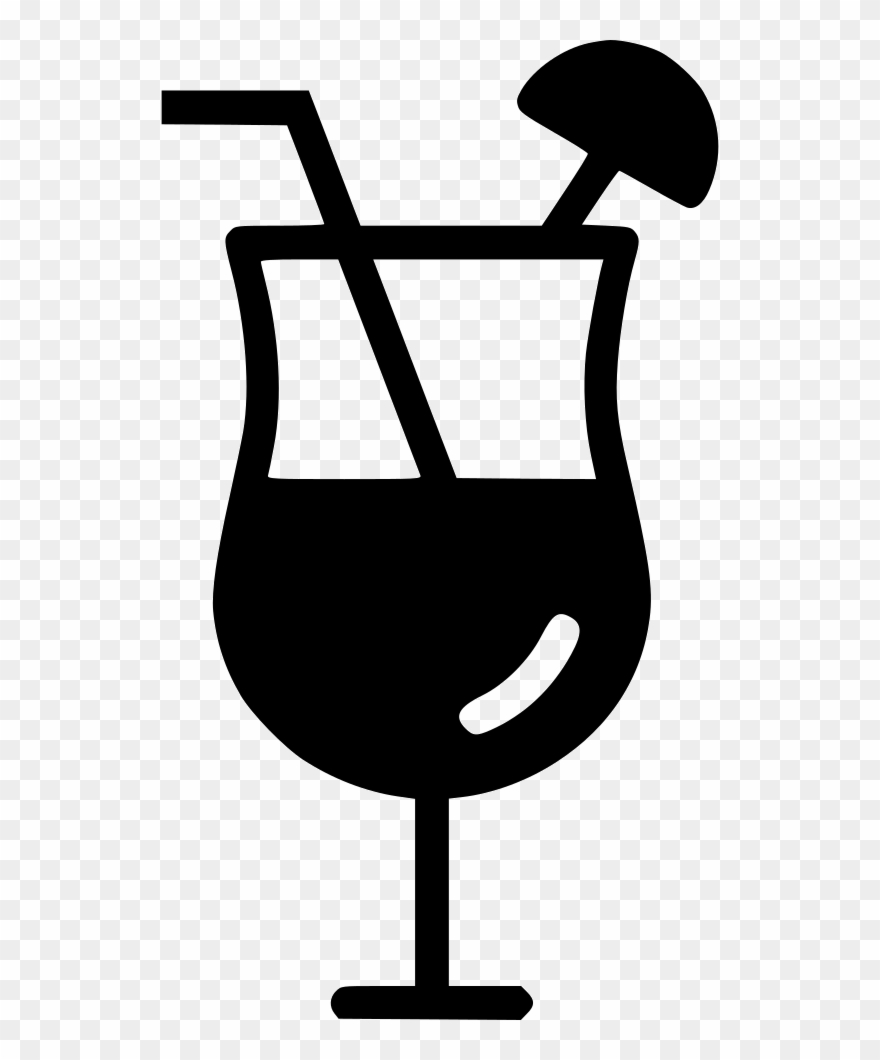 Cocktail Mocktail Lounge Beverage Juice Svg Png Icon.