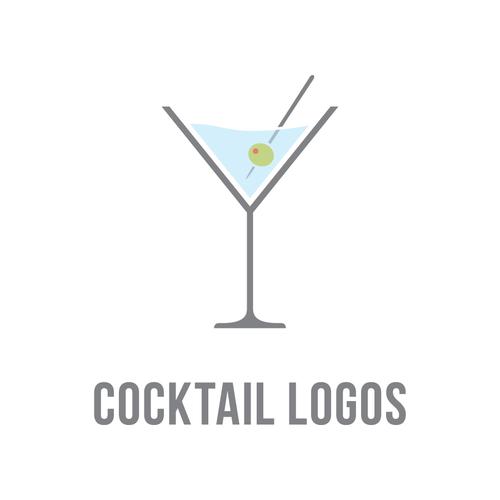 Cocktail logo png 3 » PNG Image.