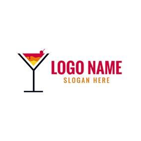 Free Cocktail Logo Designs.