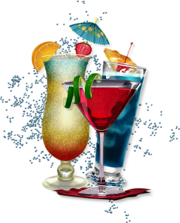 HD Cocktails Png.