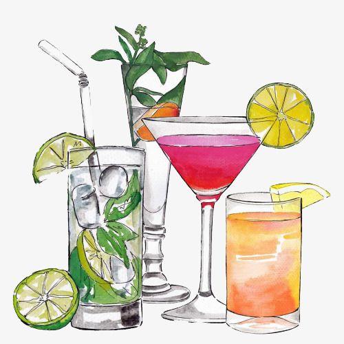 Cartoon Cocktail, Cartoon Clipart, Cocktail Clipart, Cocktail PNG.