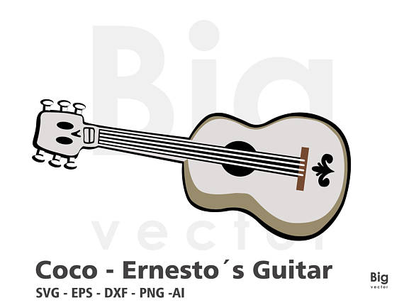 Coco guitar clipart 4 » Clipart Station.