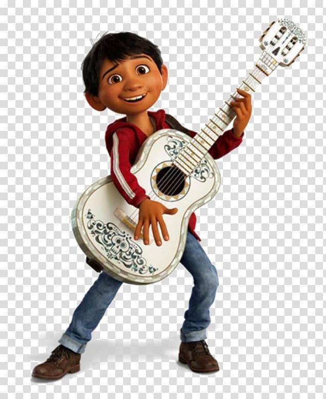 Coco Pixar Film Song Musician, mega mendung transparent background.