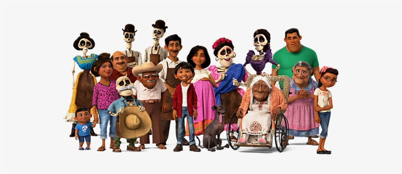 Coco Family Png.