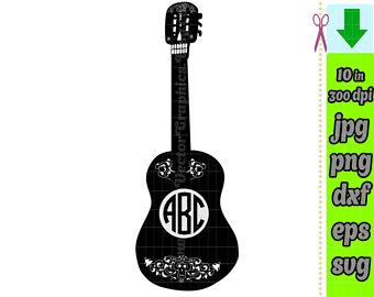 Coco Guitar Silhouette.