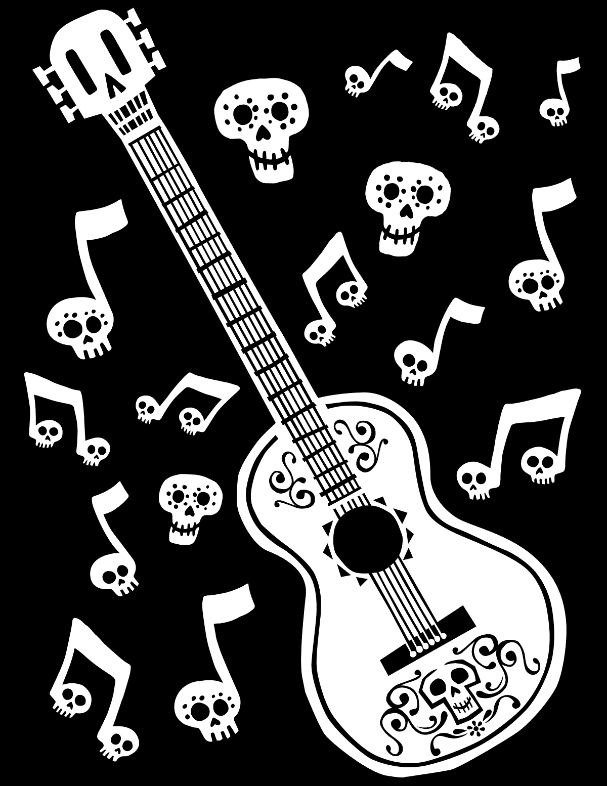 Coco Coloring Pages.