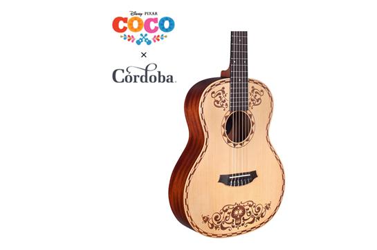 Disney/Pixar Coco x Cordoba Acoustic Guitar.