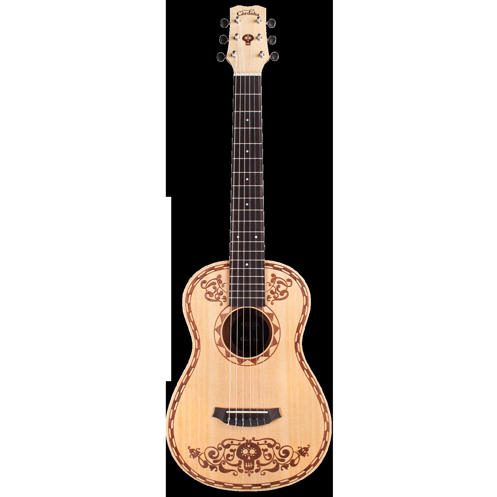 Cordoba Disney Pixar Coco X Mini Spruce Classical Guitar.