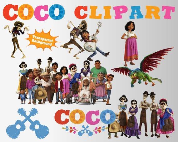 Coco movie 2017 Clipart.