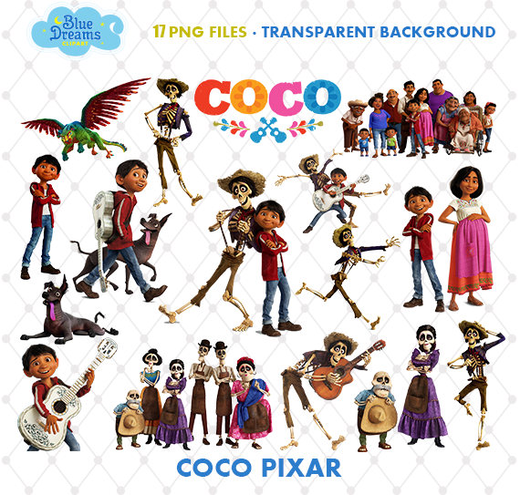 Coco Clipart, Disney Coco Movie, coco png, images, clipart vector.