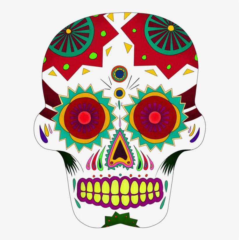 Coco Sugar Skull Png Clip Art Black And White Download.
