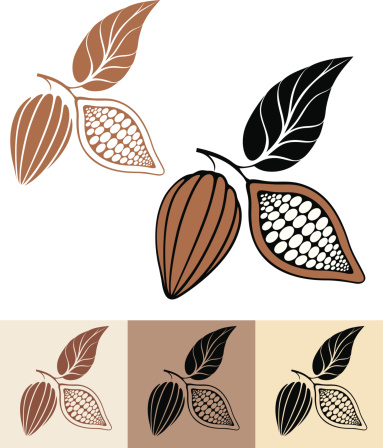 Cocoa Bean Clip Art, Vector Images & Illustrations.