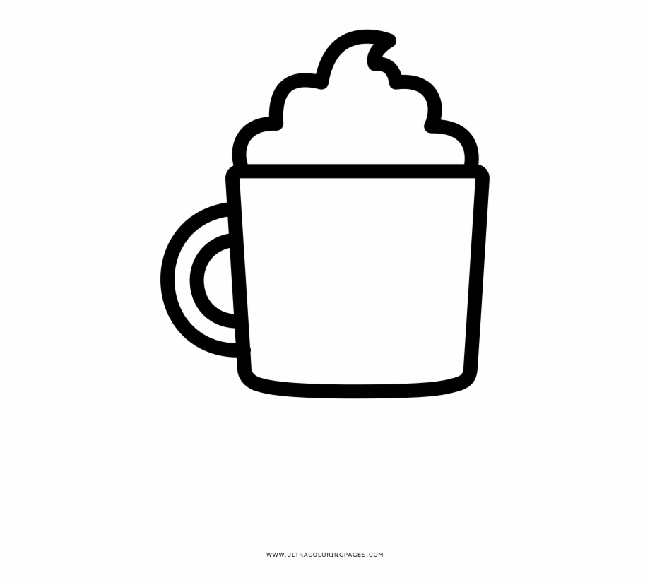 Free Hot Chocolate Clip Art Black And White, Download Free.