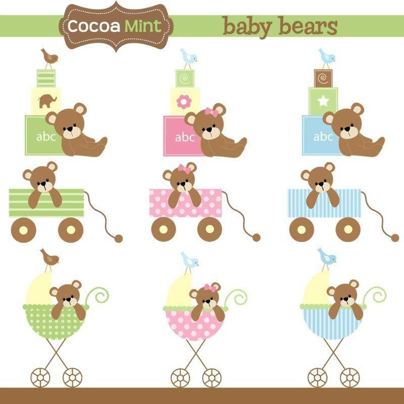 COCOA MINT Baby bear.