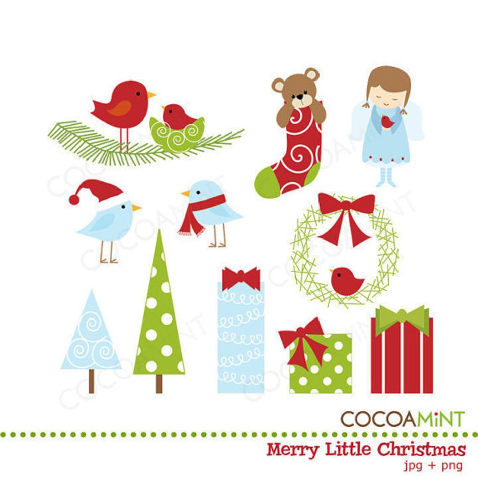 Merry Little Christmas By Cocoa Mint Catch My Party free image.
