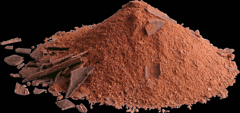 Powder Chocolate transparent PNG.