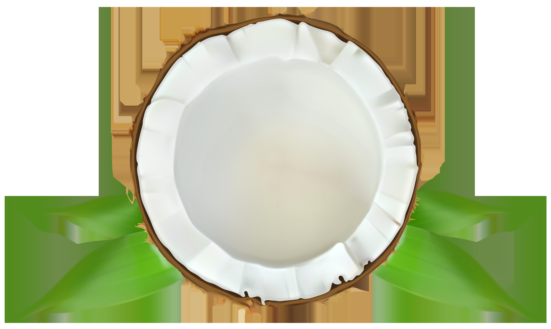 Coconut Transparent PNG Clip Art Image.
