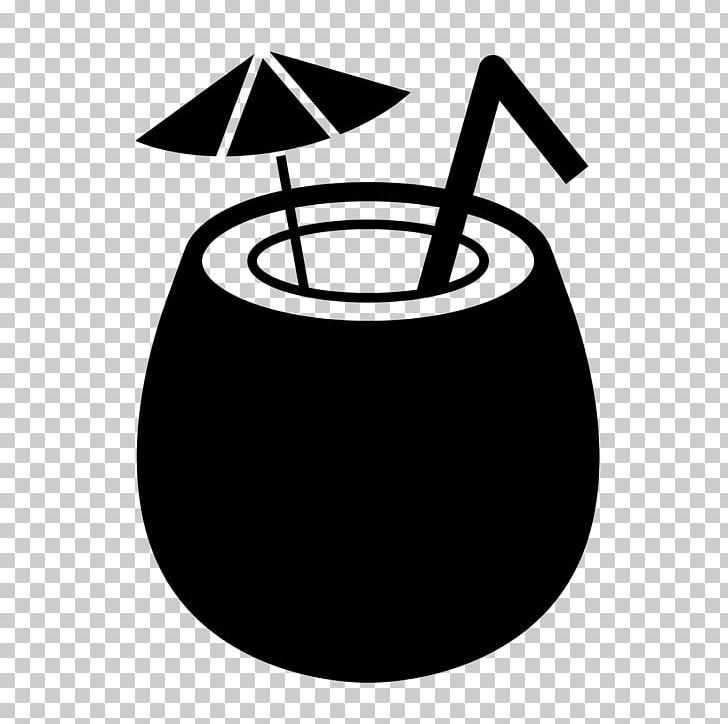 Coconut Water Coconut Milk Black And White PNG, Clipart, Black And.