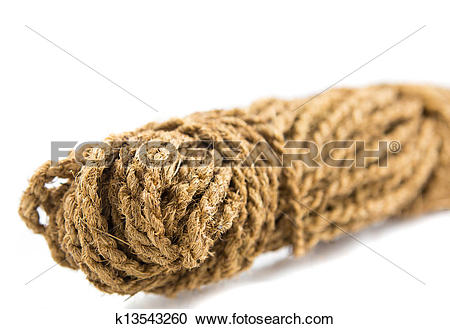 Stock Photography of Coconut Fiber Rope k13543260.