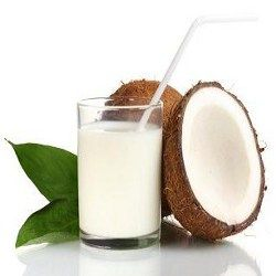 Coconut milk clipart #17