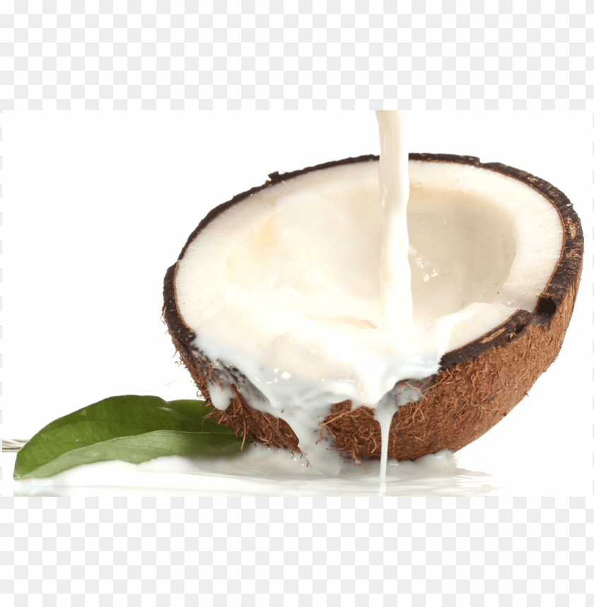 coconut milk PNG image with transparent background.