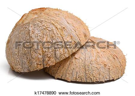 Stock Photography of Coconut Shell k17478890.