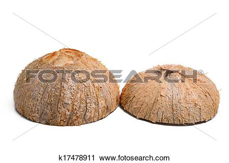 Stock Photography of Coconut Shell k17478911.
