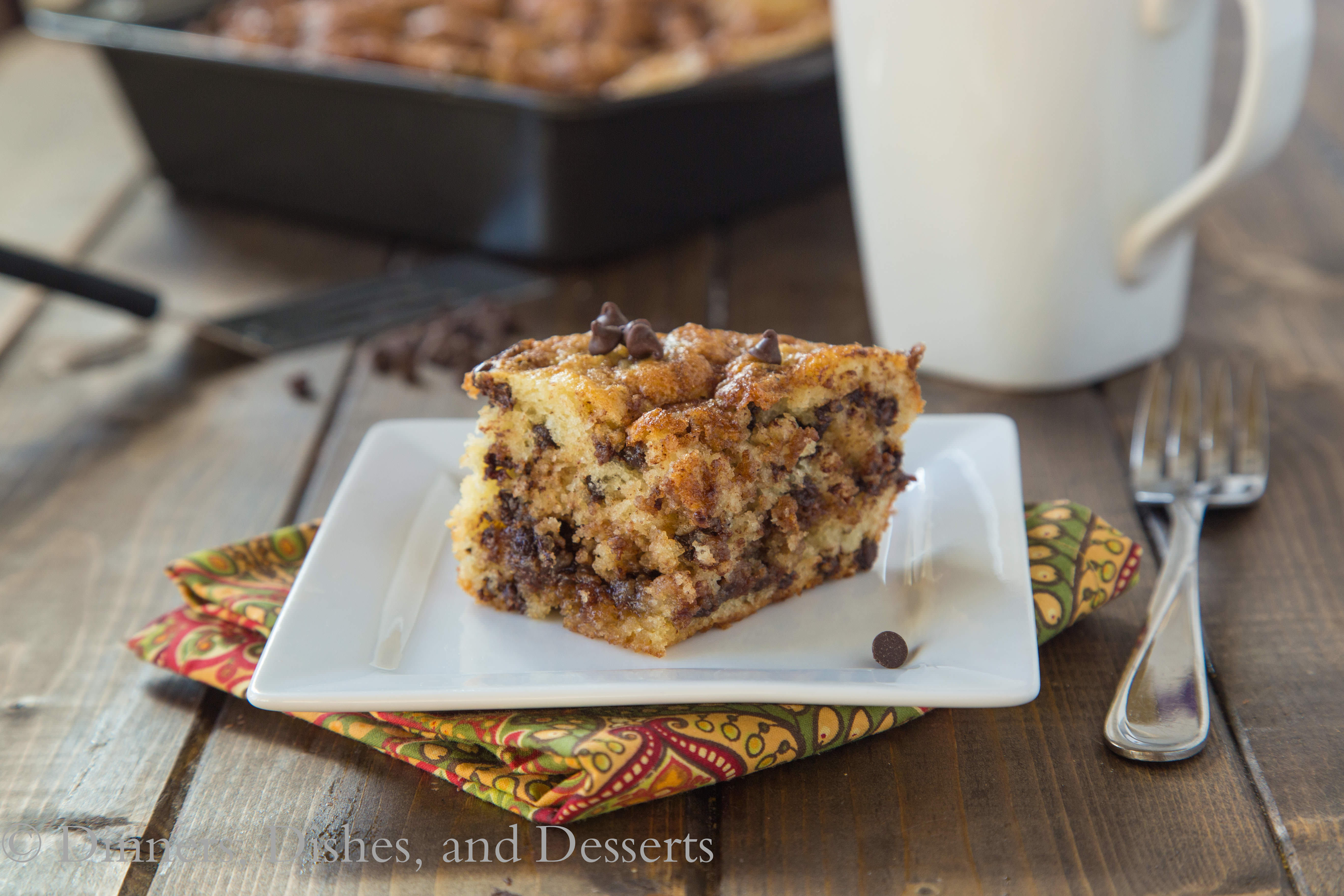 Chocolate Chip Coffee Cake.