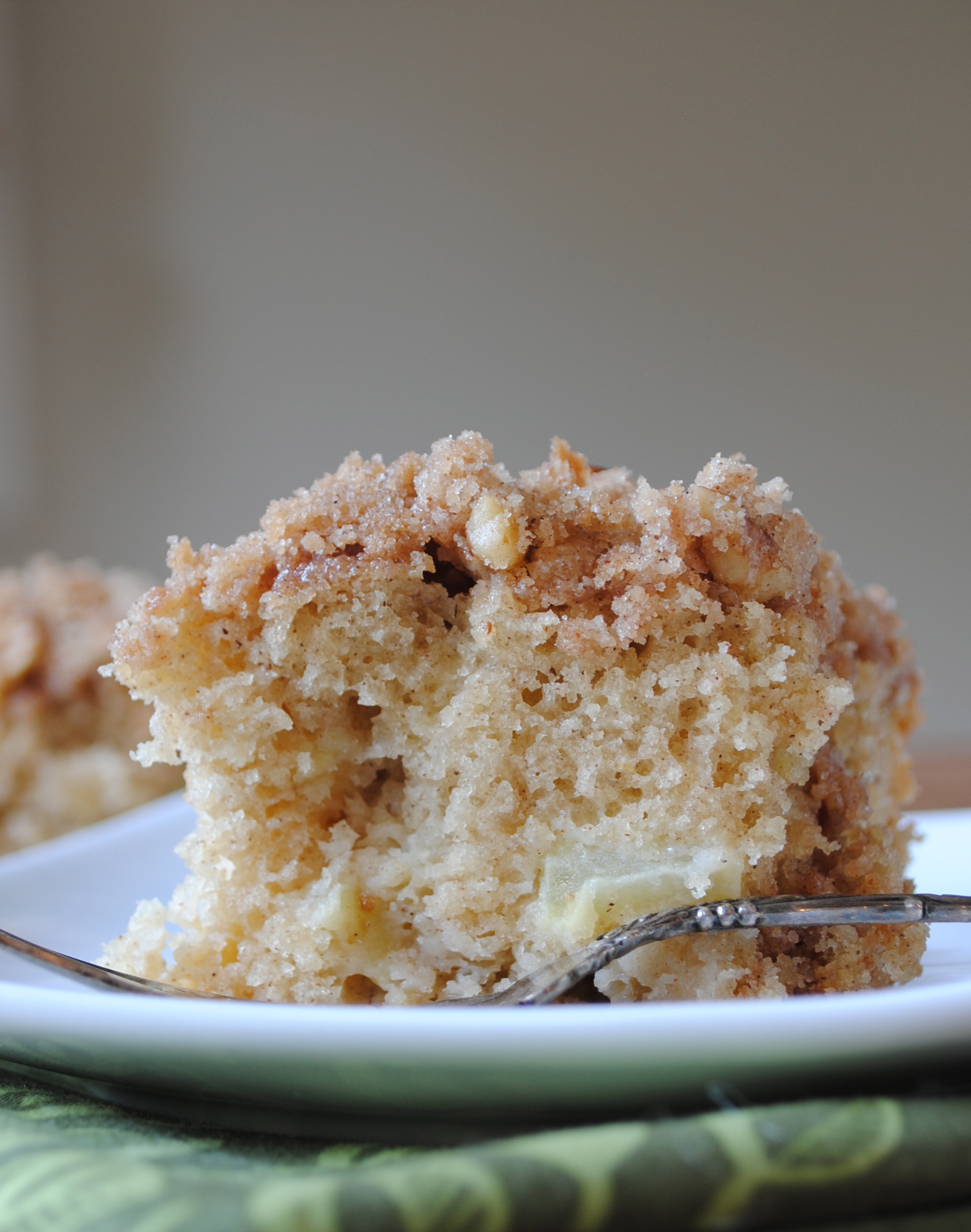 Apple Streusel Coffee Cake.