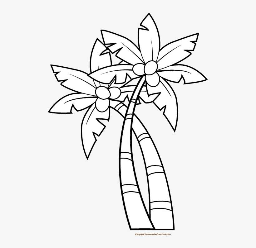 Palm Tree Png Clipart.