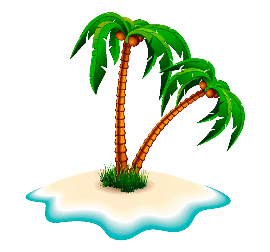 Clipart Png Coconut Tree.