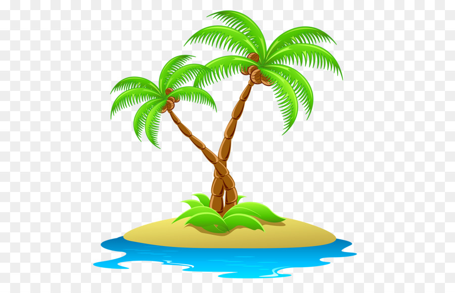Coconut tree clipart png 2 » Clipart Station.